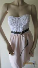 NWT 2BEBE GISELLE 2 D LACE SHORT DRESS SIZE L