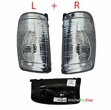 FORD TRANSIT MK8 LEFT + RIGHT WING MIRROR INDICATOR LAMP LIGHT LENS CLEAR