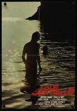 SUN ON THE SKIN Italian fotobusta movie poster ORNELLA MUTI 1971