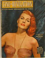 Ciné Révélation n°80- 1955 - Rita Hayworth - Roman Photo avec Giselle Pascal