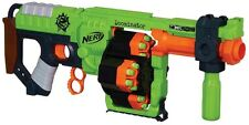 Plastic Nerf Zombie Strike Doominator Blaster's 4 Flipping Drums For 8 and Up