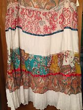 Live A Little Women's Peasant Skirt Size 24W