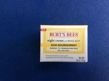 Burt's Bees night cream w-royal jelly skin nourishment, 99% natural 1.8 oz (51g)