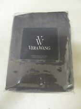 Vera Wang Night Blooms Purple Linen and Velvet  Euro Sham      NIP