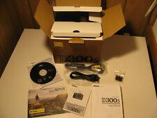 Original Box, Software, RCA, mini usb cables Manual, Quick guide for Nikon D300s