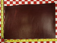 "AUTHENTIC HORWEEN LOLIPOP RED CAVALIER LEATHER CUT 5oz 18.5""x12.5"" NAT. QLTY"