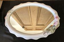 HADIDA 'Bathroom Collection' English Fine Bone China Oval Mirror