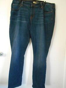 OLD Navy Dark Denim Sweetheart Ladies Jeans 16 Long