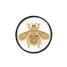 Bumble Bee DIY Iron On Embroidered Applique Patch