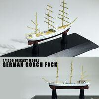 GERMAN Gorch Fock 1/1250 diecast model ship deagostini