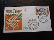 REPUBLIQUE CENTRAFRICAINE - enveloppe 1er jour 17/2/1962 (B12)
