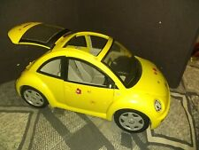 Barbie VW Volkswagen Beetle Bug Yellow Car, Mattel 2000