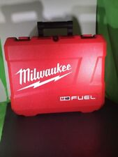 Milwaukee Heavy Duty Tool Case Box Fits 2703-22 M18 Red Used
