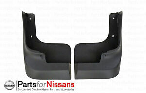 Genuine Nissan 2013-2021 NV Full Size Front Splash Guards - NEW OEM
