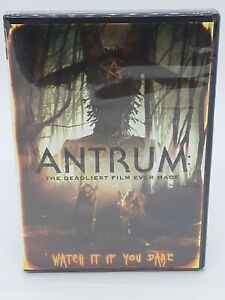 Antrum DVD The Deadliest Film Ever Made Unrated Horror Widescreen NEW SEALED