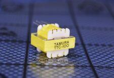Tamura TTC-100 Audio & Signal Transformer 600CT Ohms 500uA Hybrid Xfmr Matching