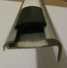 """2 @ 62"""" RV Teardrop Aluminum Insert Type Roof Edge Molding 5/8"""" Leg x 1 5/32"""""""