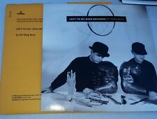"""Pet Shop Boys - Left To My Own Devices 7"""" Vinyl Record in Limited Outer Card Sl"""