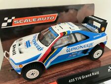 "Scaleauto Peugeot 405 T16 Grand Raid "" Winner "" Paris Dakar 1989 """