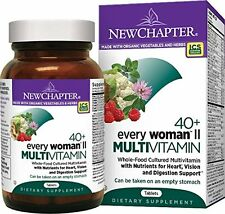 NEW CHAPTER EVERY WOMAN'S II DAILY MULTI VITAMIN 40+ 96 Tablets $90 VALUE 04/19