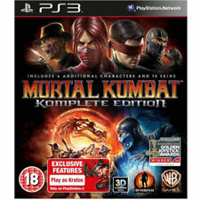 Jeux vidéo anglais Mortal Kombat Sony