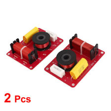 Pair 130W Crossover Filters Frequency Distributor for 2-Way Speaker System Audio