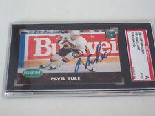 PAVEL BURE AUTOGRAPHED 1992-93 PARKHURST RC ROOKIE CARD-SGC SLAB-ENCAPSULATED