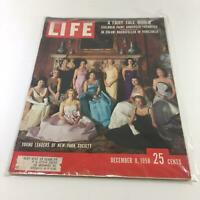 VTG Life Magazine December 8 1958 Young Leaders of New York Society Feature