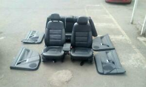 VAUXHALL VECTRA C MK2 ELITE ESTATE FULL BLACK LEATHER INTERIOR SEATS 2002-2009