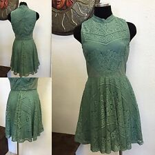 Francesca's,,Green Lace dress,Sexy,Rockabilly, Swing, Retro ,NWT,BOHO, S/M/L