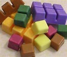Breakaway 6-Cavity Plastic Wax Tart Melt Clamshell Molds (Lot of 25)