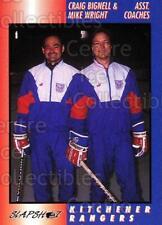 1994-95 Kitchener Rangers #36 Craig Bignell, Mike Wright