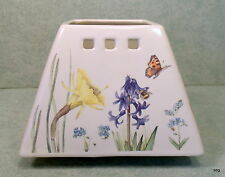 Marjolein Bastin Square Jar Candle Shade * Spring Flowers & Butterflies