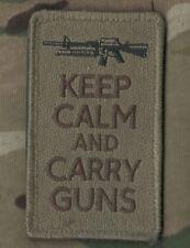 TALIZOMBIE© WHACKE KILLER ELIET USMC FORCE RECON SSI: Keep Calm 'n Carry a Gun a