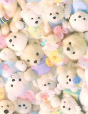 "GIFT WRAP 24"" x 800' Stuffed Teddy Bears  (#401)"