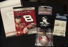 DALE EARNHARDT JR #8 NASCAR 4pc FAN PACK*Collectible*FREE Super Fast SHIPPING*