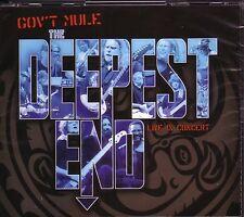2 CD + DVD (NEU!) . GOV'T MULE (Warren Haynes) - Deepest End (live 2003 mkmbh