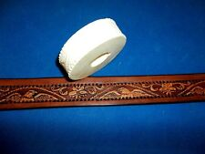 """Eagle and Floral with Rope Leather Emboss Roll High Impact Poly 1"""" Wide"""
