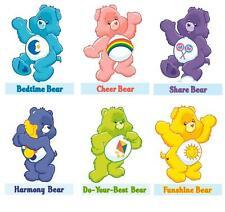 Care Bear 6 bears on one sheet  #1  T-shirt Iron on transfer 8x10