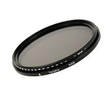 49mm GRIGIO variabile Filtro Vario ND Fader Filtro nd2-nd400