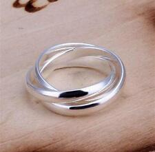 Xmas Gift wholesale fashion Jewelry  Silver beautiful Ring R + gift Bag