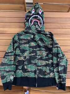 Bape Shark Camo Hoodie Jacket Dev-Ops Zip Up