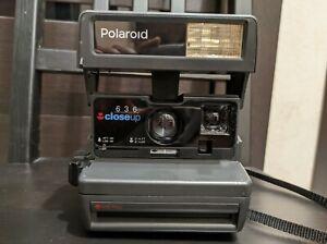 Polaroid 636 close up Instant Camera Auto Focus With Original Box.