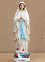 D11 Catholic Church Christian Blessed Virgin Lourdes Statue Decoration Prayer Q