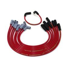 Taylor Spark Plug Wire Set 84236; ThunderVolt 8.2mm Red 90° Vortec for Chevy V8