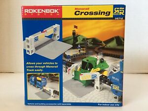 New/Sealed*Rokenbok System*Monorail crossing*06712*Stem*Building
