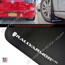 "Rally Armor UR ""Black Mud Flaps Silver Logo"" for 2015+ VW MKVII Golf TSI, GTI"