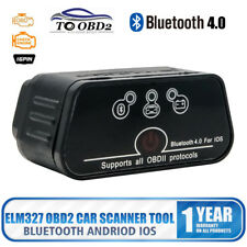 Bluetooth4.0 ELM327 OBD2 IOS Fault Code Reader Diagnostic Wireless Scanner Tool