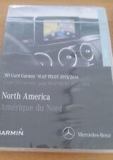 SD Card Garmin Map Pilot 2016 North America, tarjeta SD, v.5.2 Mercedes Benz