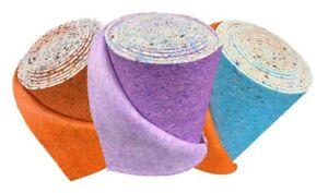 8mm, 10mm, 12mm Thick PU Carpet Underlay Cushion Soft Luxury Feel High Density